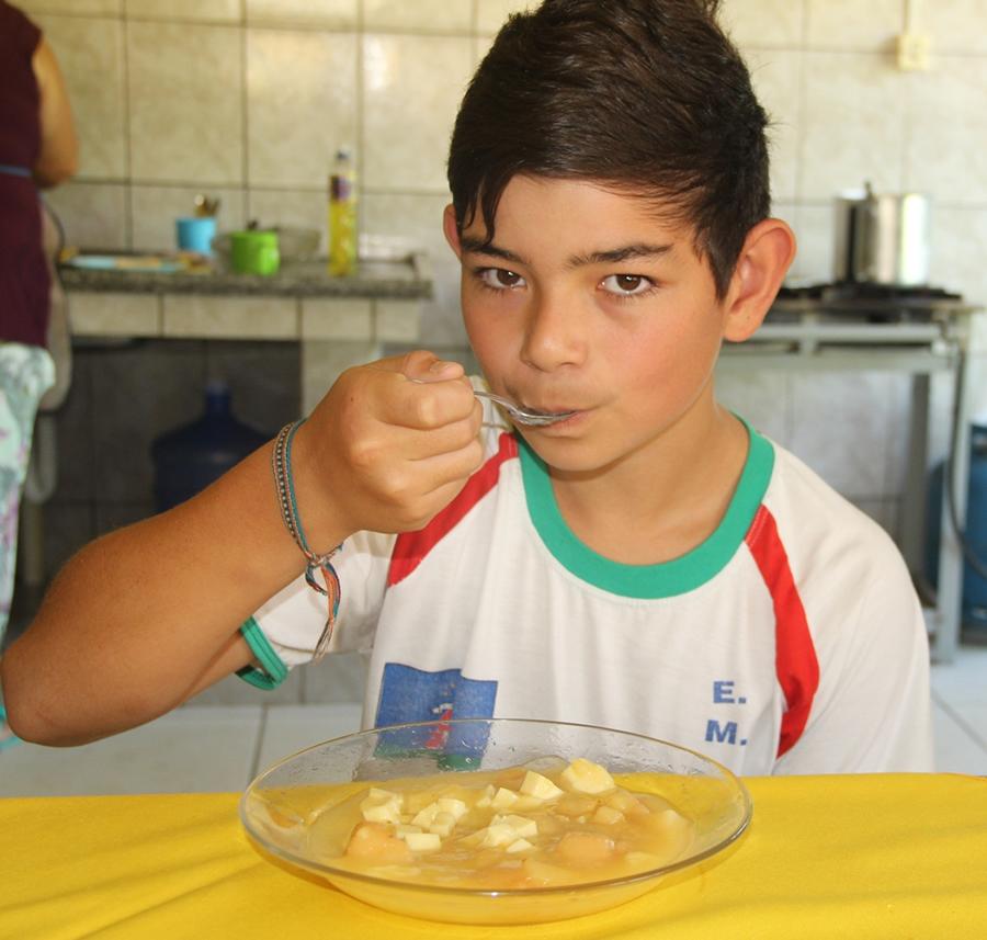 A Sopa de Marmelo, a razão de ser da Festa, é sempre tema das aulas de educação patrimonial ministradas na Rede Municipal de Educação da cidade.