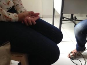 Jovem procurou a polícia após repercussão do caso.  (Foto: Valdivan Veloso/G1)