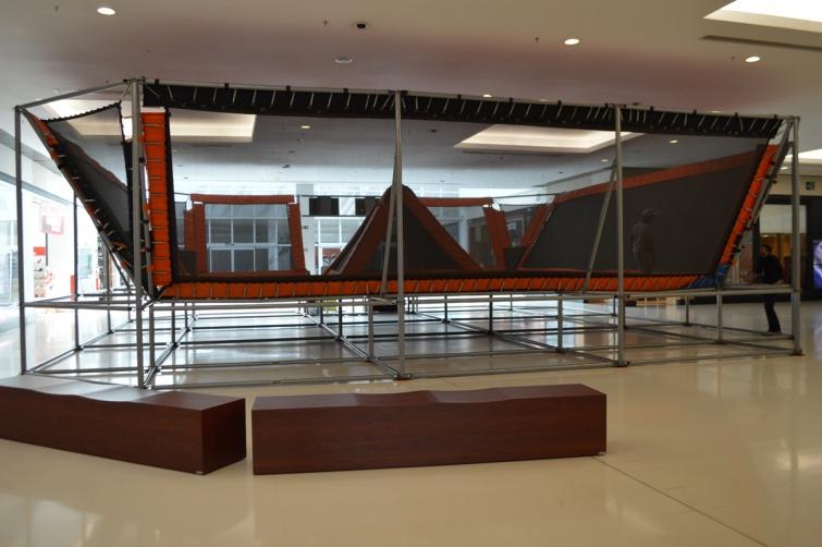 Atração estará na Praça de Eventos do shopping de Pouso Alegre até 31 de maio. (Foto: Divulgação)