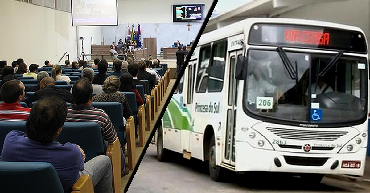 Audiência Pública irá discutir regulamentação do transporte coletivo em Pouso Alegre.