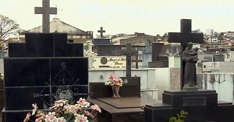 Taxa de Cemitério em Pouso Alegre é considerada legal pela Justiça (Imagem: Reprodução EPTV)