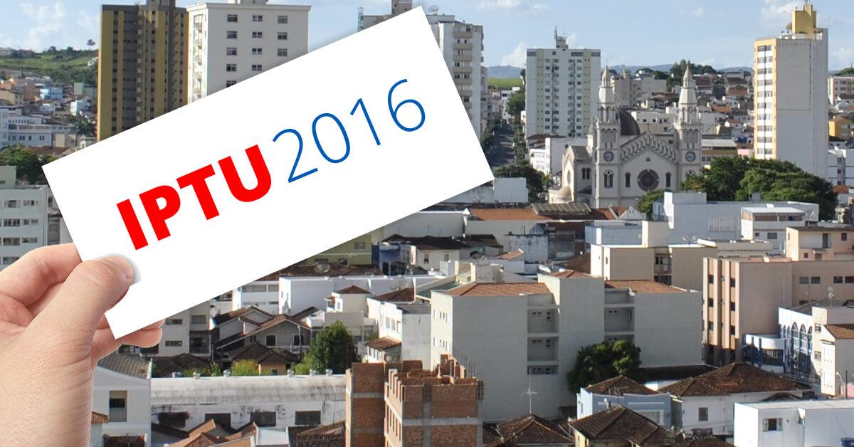 Cobrança do IPTU 2016 começou a chegar a casa dos pousoalegrenses