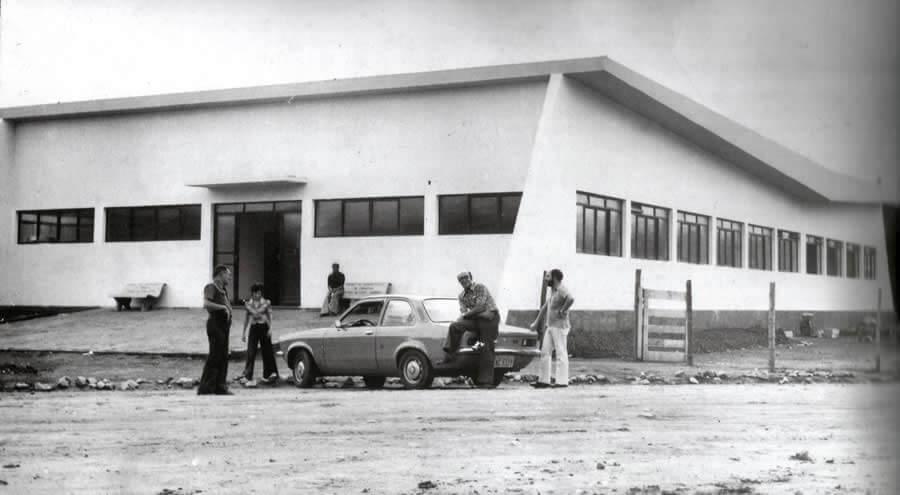 A FAI na década de 1970 (Foto: Divulgação)