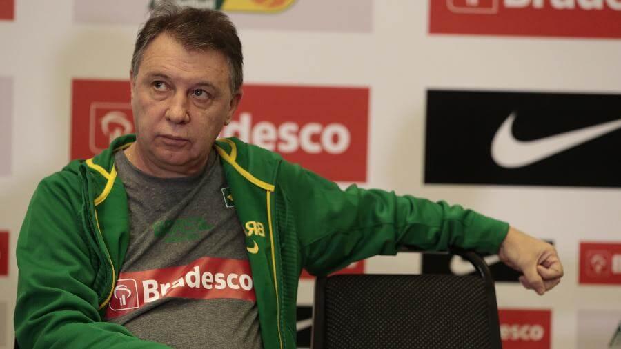 Técnico da seleção Brasileira diz ter ficado irritado (Foto: FolhaPress)