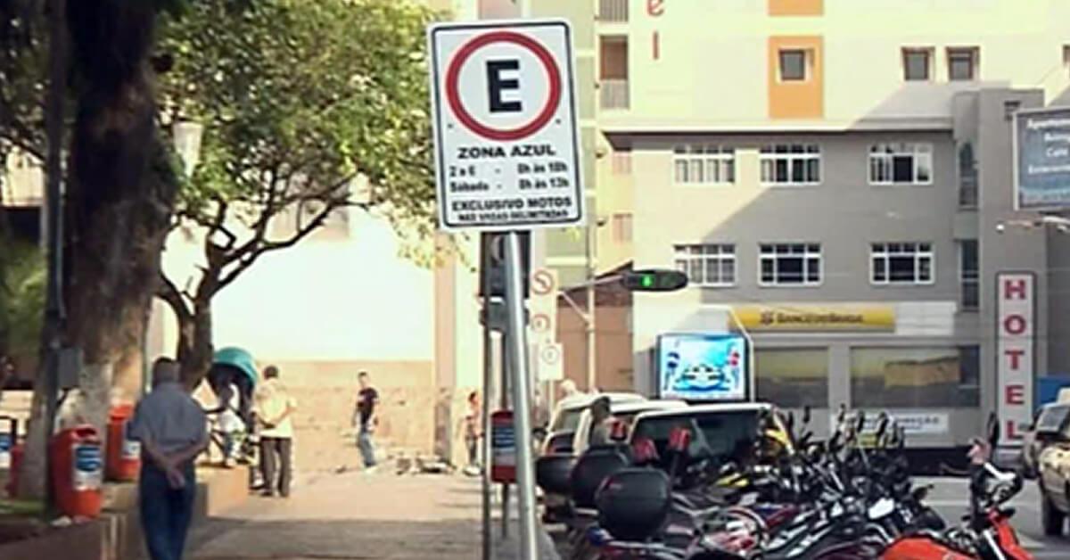 Zona Azul passará a multar já no 2º aviso em Pouso Alegre (Imagem: Arquivo EPTV)