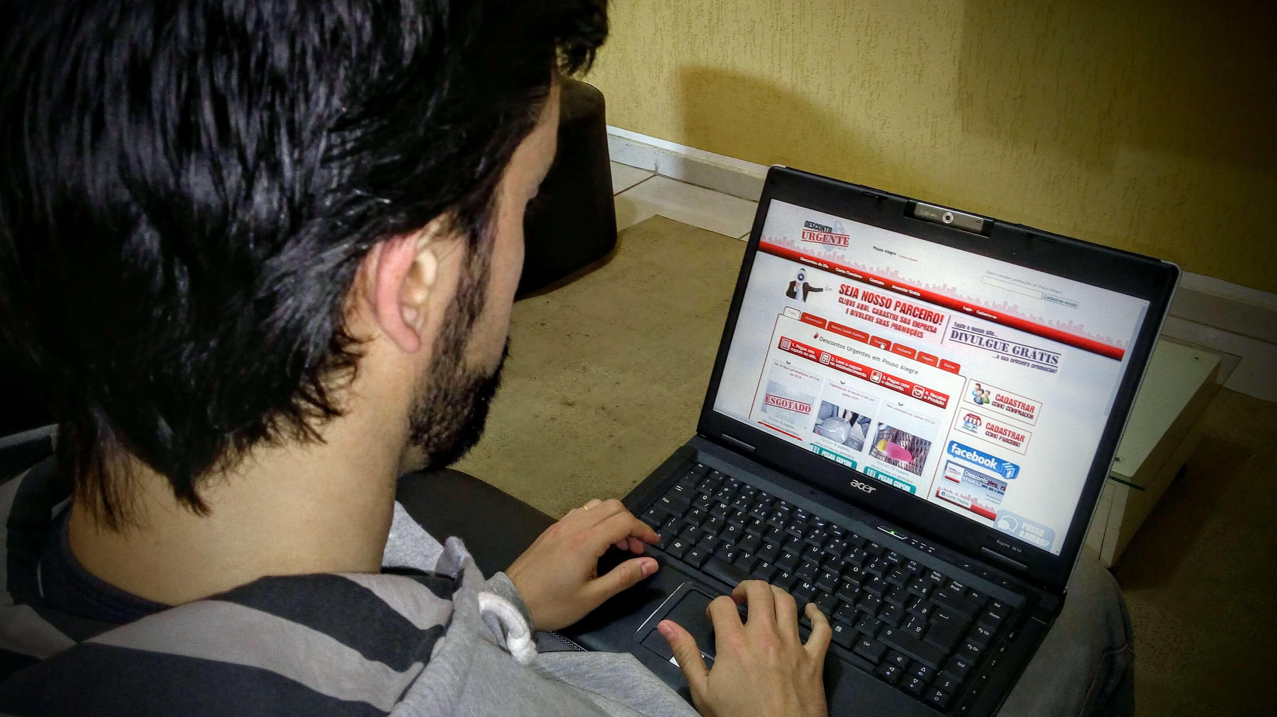 No site, consumidor encontra diversos cupons de desconto (Foto: Divulgação)