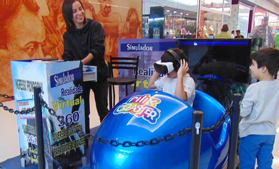 Realidade virtual (Foto:Divulgação)