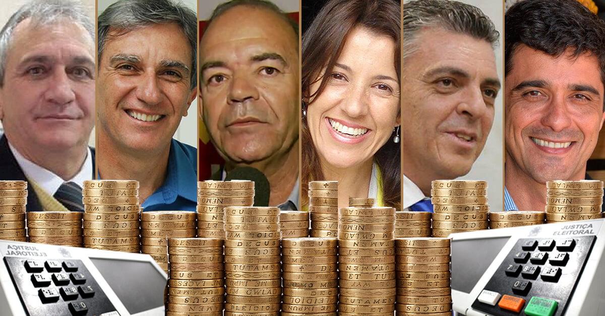 A soma dos bens dos candidatos a prefeito em Pouso Alegre chega a R$ 21,949 milhões