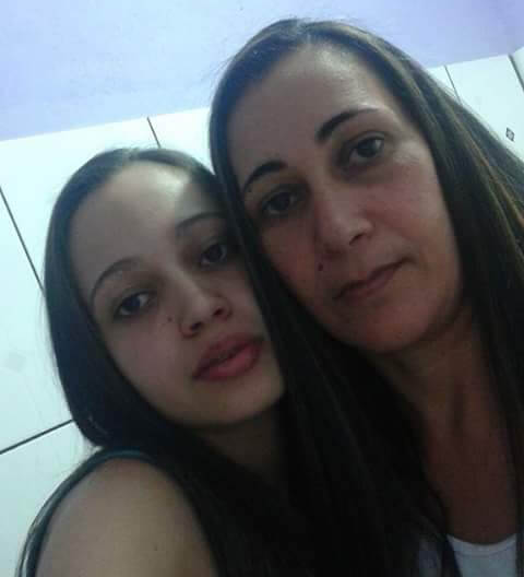 Hellen e a mãe, Jussara. foram mortas. Imagens: Rede Social