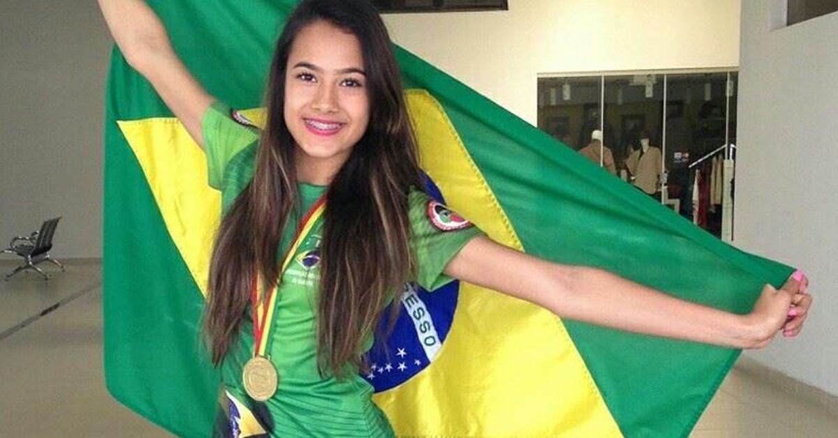 Bárbara Hellen foi ouro no Pan-americano (Foto: Rede Social)