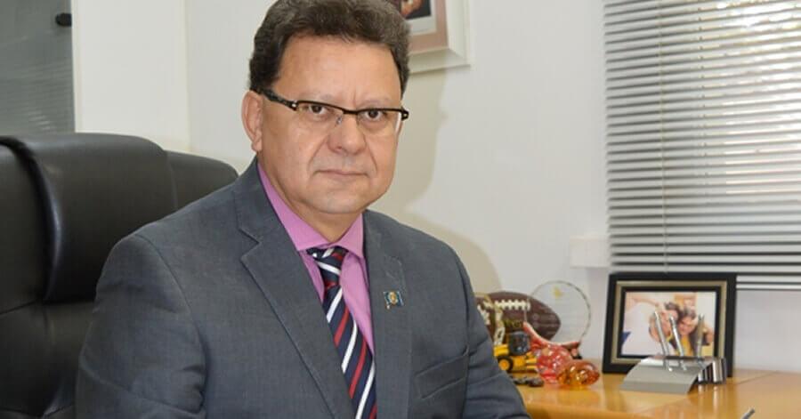Prefeito de Pouso Alegre ficou internado em UTI em Campinas (Foto: Prefeitura / Arquivo)