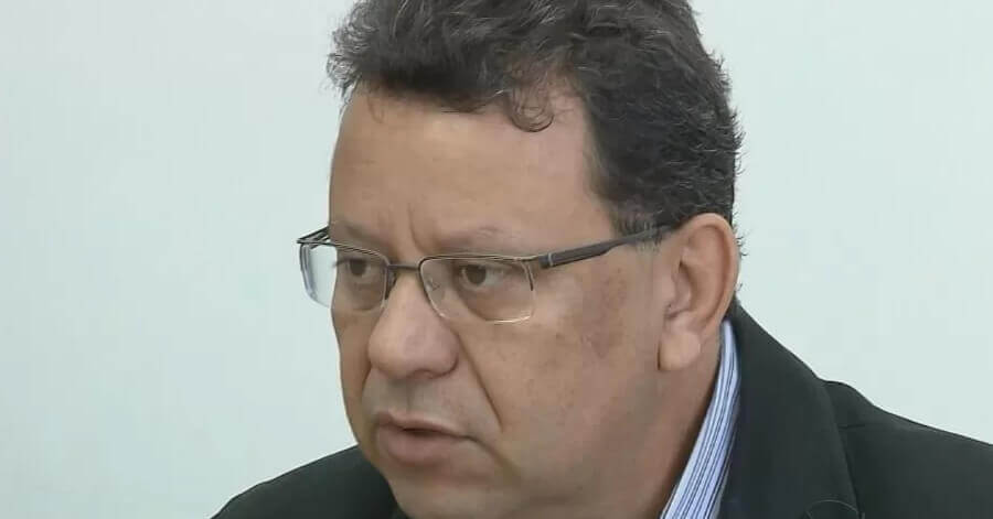 Prefeito Agnaldo Perugini esta se recuperando de cirurgia (Foto: Arquivo EPTV)