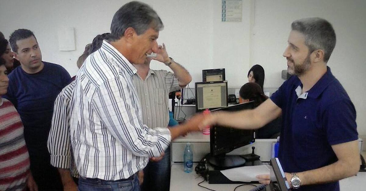 Rafael Simões registrou na sexta-feira (5) a ata com sua indicação  (Imagem: reprodução EPTV)