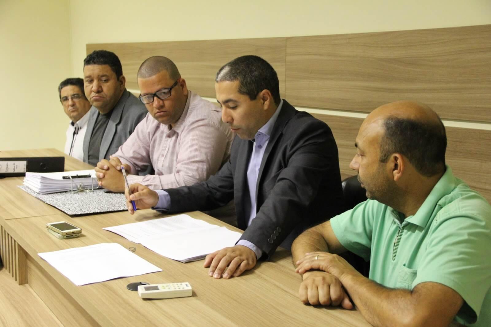 CPI da Copasa em reunião nesta quinta-feira (Foto: Câmara)