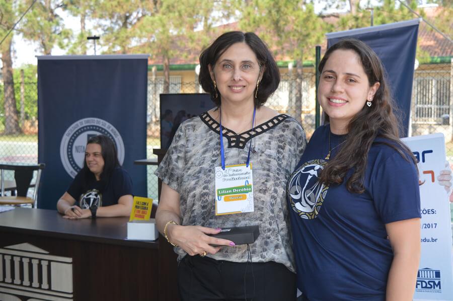 Lilian Deróbio, diretora da Fundação Bradesco (Foto> FDSM)