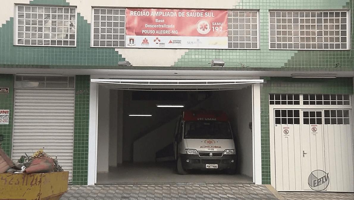 Nova sede do Samu (Imagem: Reprodução EPTV)