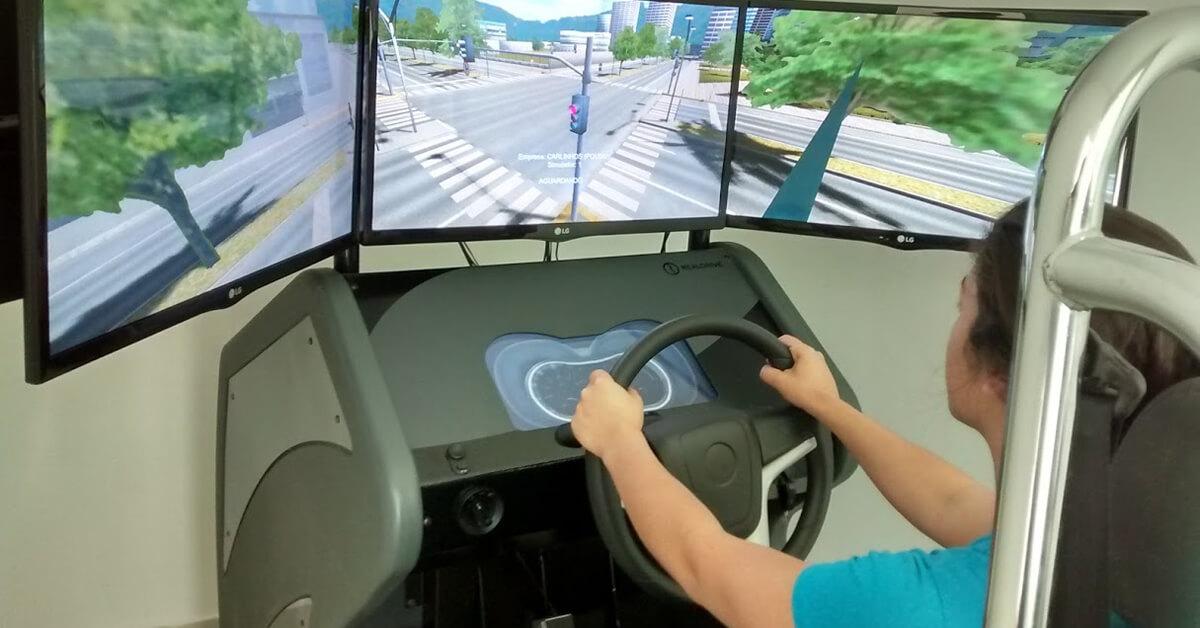 Aula de simulador sai de graça na promoção da Autoescola Carlinhos (Foto: Divulgação)