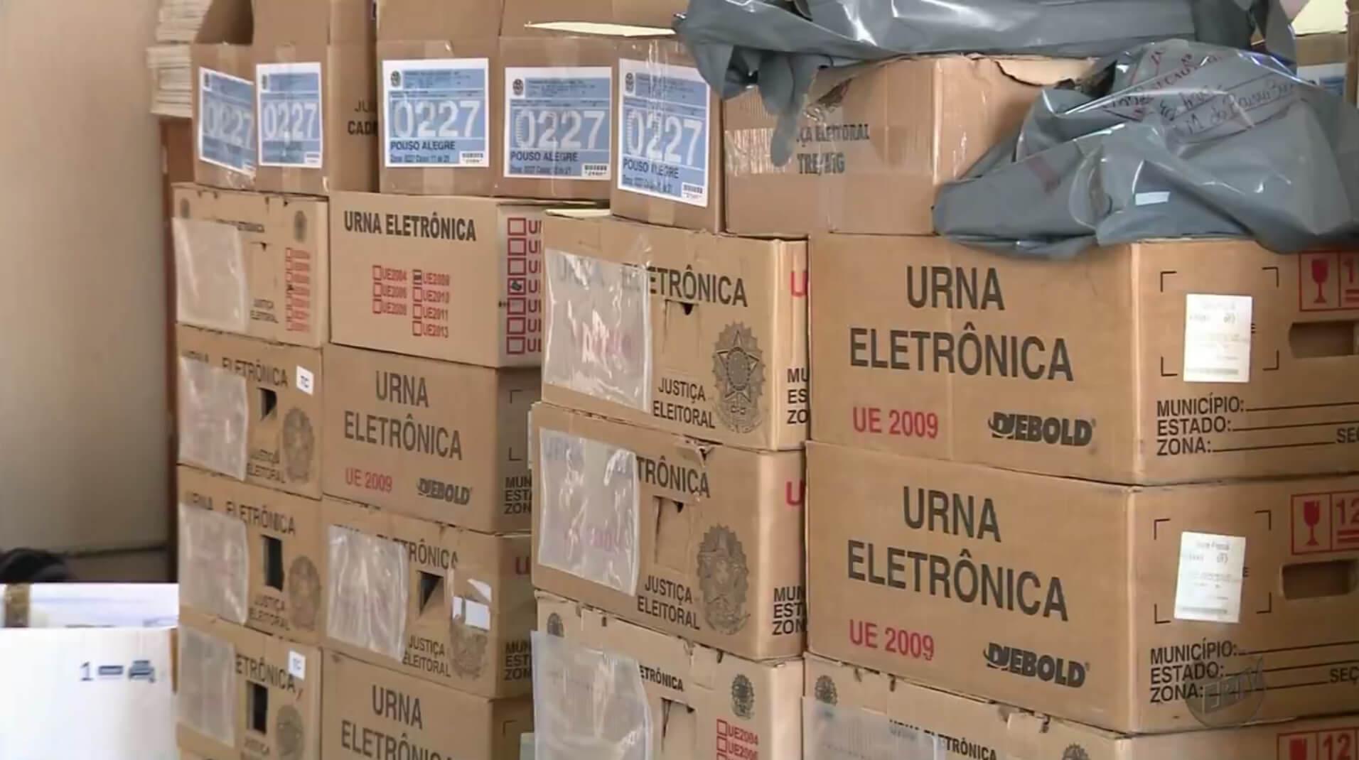 Expectativa é que urnas fossem lacradas em 26 de setembro (Foto: EPTV)