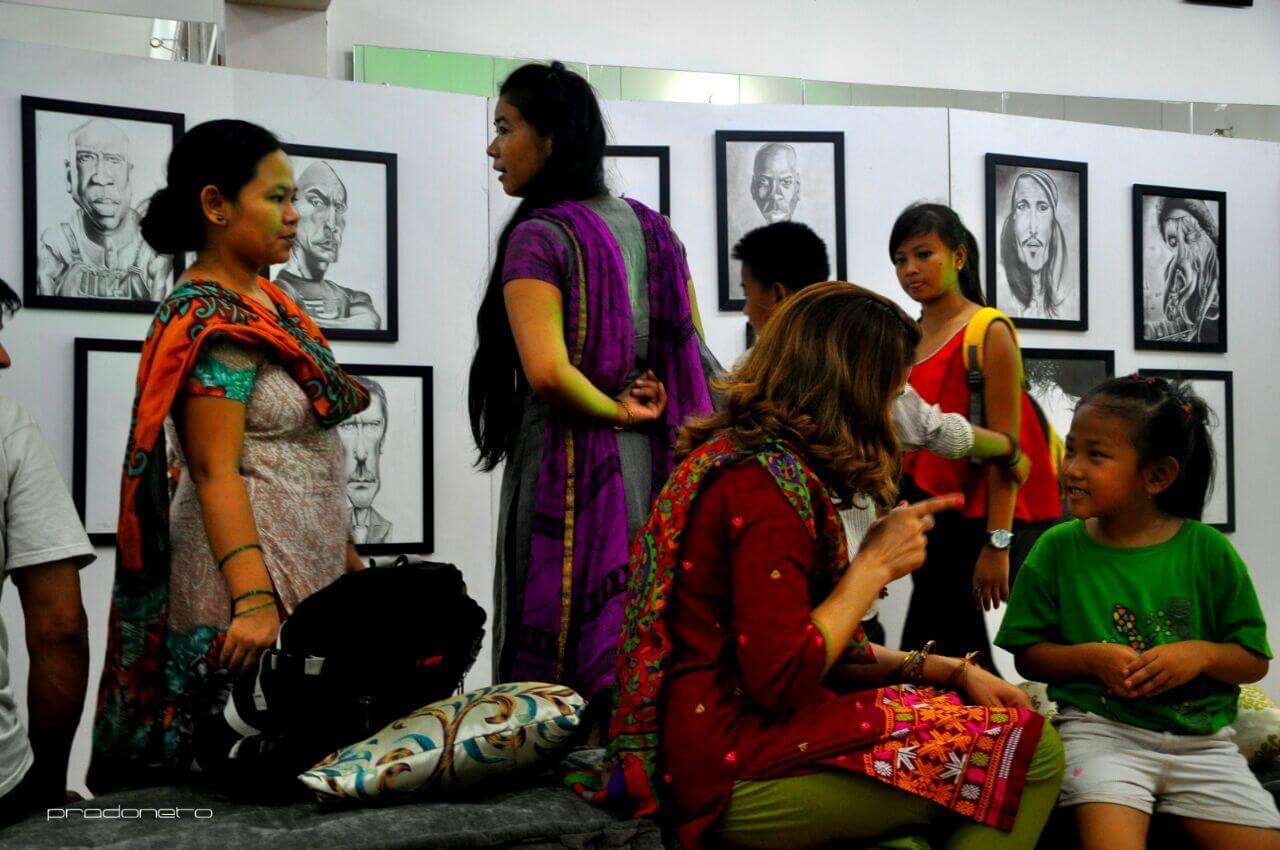 Exposição recebeu visitas de pessoas de vários cantos do mundo (Foto: Arquivo Pessoal / Prado Neto)