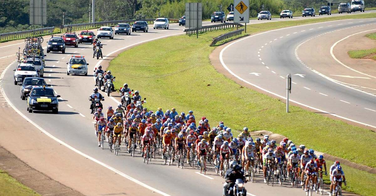 Cerca de 100 ciclistas participarão de prova. (Imagem ilustrativa)