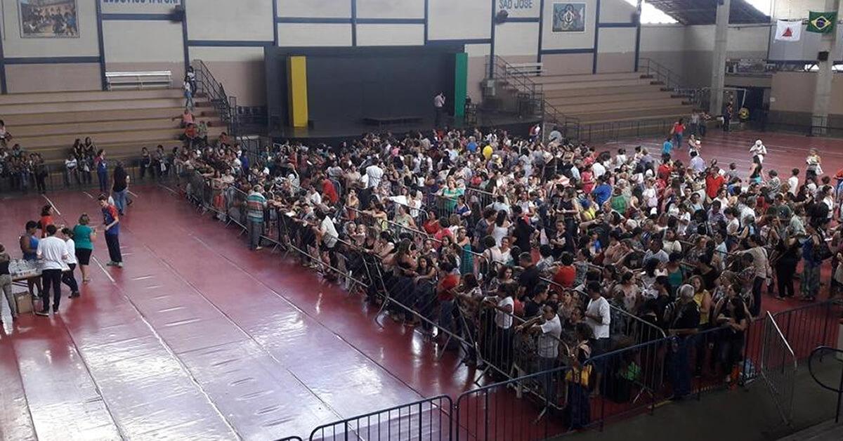 Cerca de 2 mil pessoas passaram pelo local (Foto: Nayara Andery / Radio Difusora )
