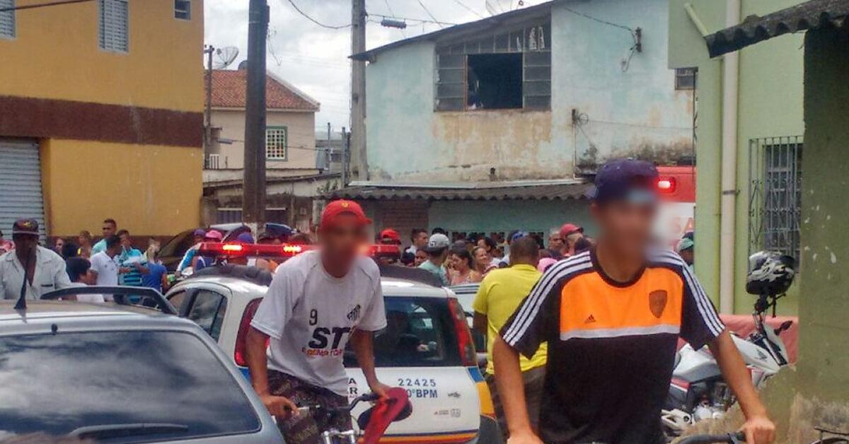 Vitima estaria fugindo do suspeito quando foi baleado (Foto; Redes sociais)