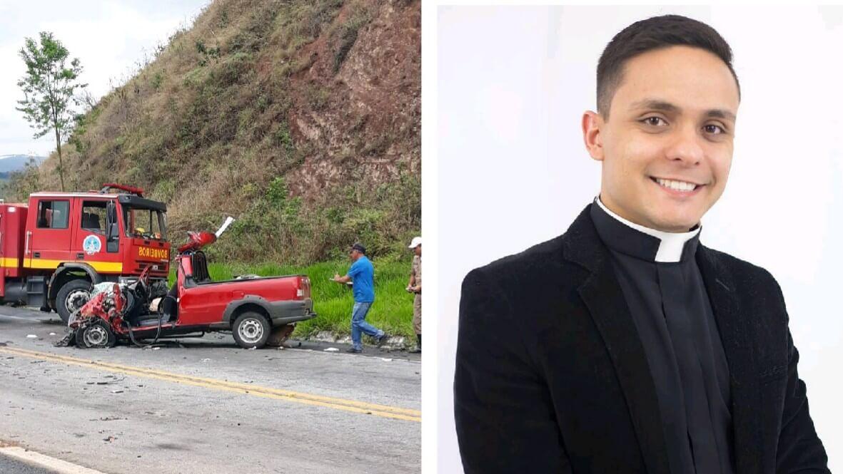 Morre Diácono que sofreu acidente vindo para Pouso Alegre - PousoAlegre.net